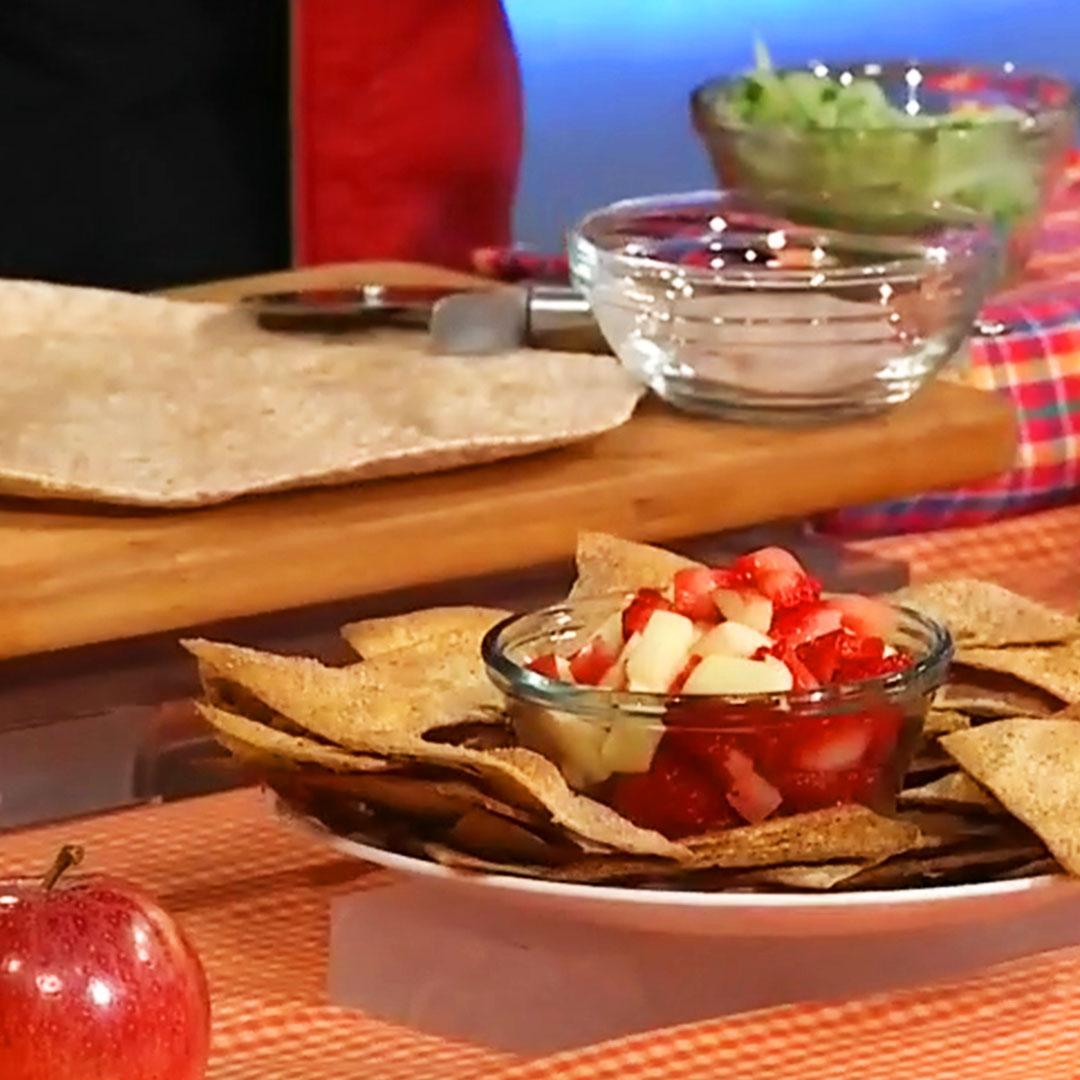Strawberries recipe in bowl