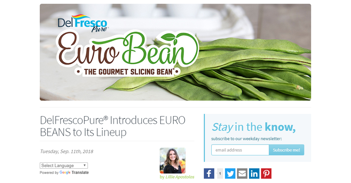 Euro Bean Feature 'And Now U Know'