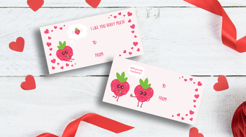 Valentine's Day YES!Berries Cards