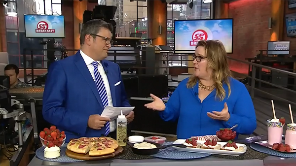 Watch how Andrea Buckett uses our YES!Berries in Eating Local for Earth Day